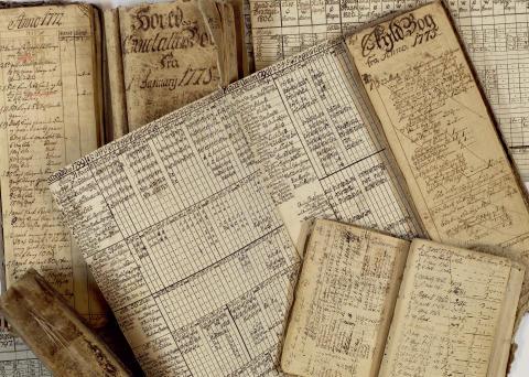 Åker gårds arkiv 1647-1933