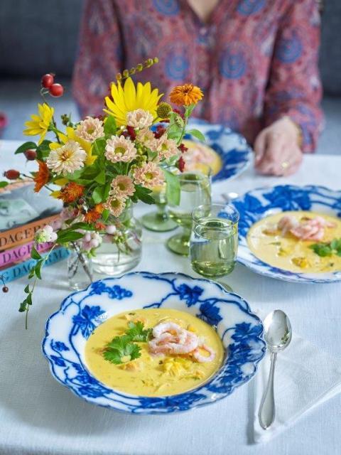 Inlagebild, Anebys bästa fisksoppa