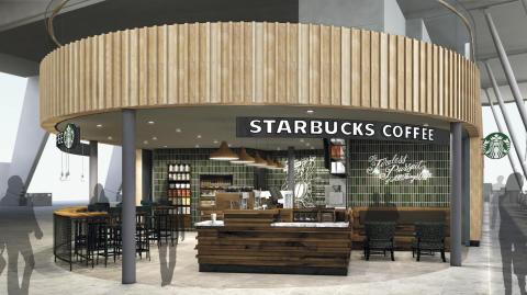 Bergen Lufthavn Flesland_Starbucks innland