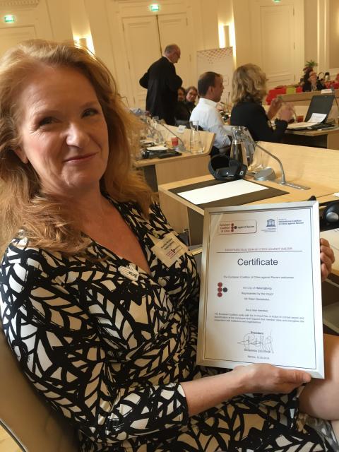 Helsingborgs stad blir medlem i ECCAR – Europeiska städer mot rasism och diskriminering