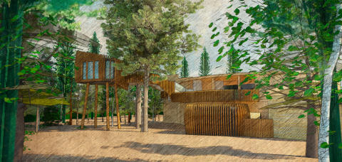 Aqua Sana at Sherwood Forest starts work on new Forest Spa concept