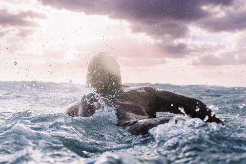 Lyckan bland vågorna