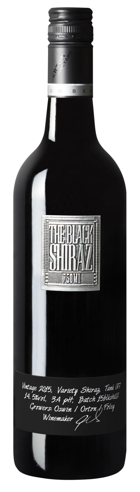 "The Black Shiraz- ""den lilla svarta"""