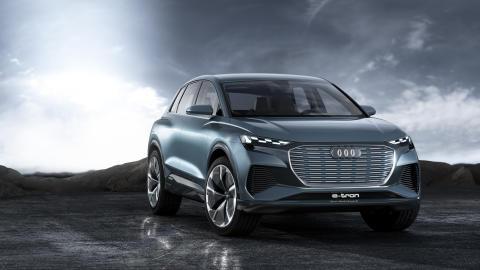 Världspremiär för Audi Q4 e-tron concept – förhandsvisning av kommande elbil från Audi