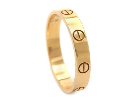 Moderna 16/1, Nr: 91, CARTIER, ring, Love, 18K roséguld. stl 18,5 mm