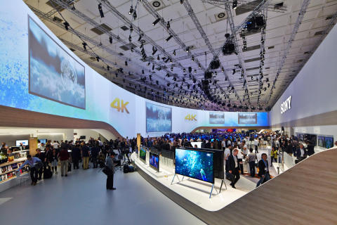 Sony IFA Booth 2014