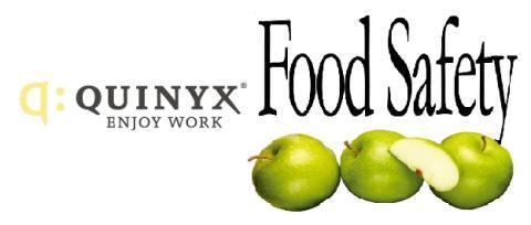 Quinyx och Food Safety ingår partnerskap