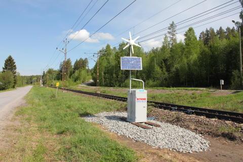 Tågtrafik med smörja i spåren