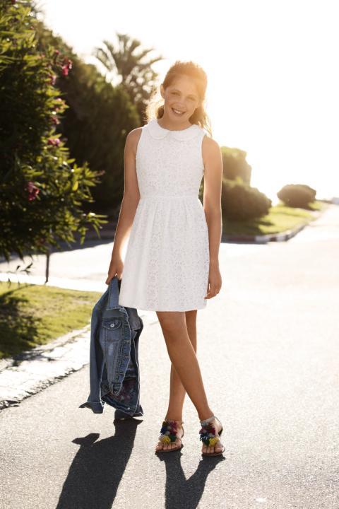 Sommer kjole stor jente 2013