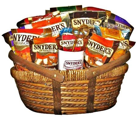 Gray's American Stores får agenturen för Snyder's of Hanover