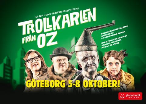 Hemmaplan när Glada Hudik-teatern gästar Göteborg