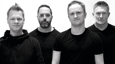 Porträttbild bandet 4Play CMYK