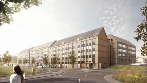 Lindbäcks bygger hyresrätter åt Framtiden i Göteborg
