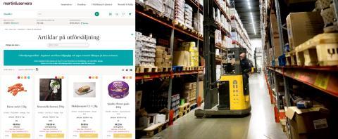 Martin & Serveras kunder har på tre månader räddat 65 ton matvaror från att bli svinn