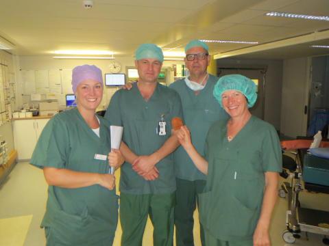 Operationsteamet som var först i Europa med att använda TYRX