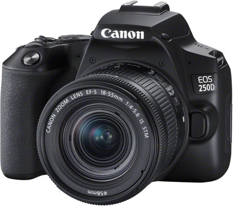 Bevar gode minner med et enkelt trykk med Canon EOS 250D – verdens letteste digitale speilrefleks med vribar skjerm