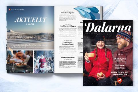 Inspirerande vinterläsning om Dalarna i nytt magasin