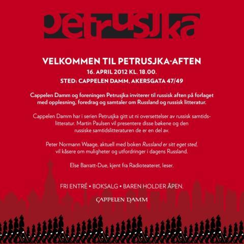 Velkommen til Petrusjka-aften