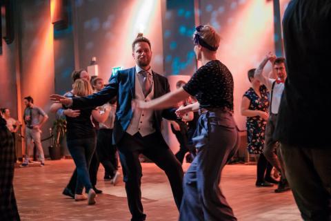 Swingdans är stort i Malmö och Lund