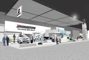Bridgestone fokuserar på ekologi och säkerhet under bilmässan i Paris