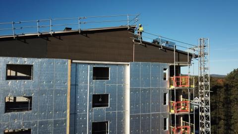 WeatherProtect- Väderskyddad fasad under renovering eller nybyggnation