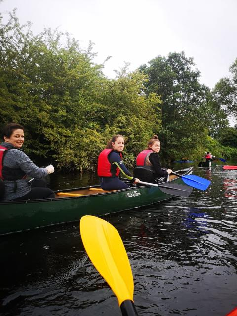 Portglenone Paddlers join the Refillution with Mid and East Antrim Council