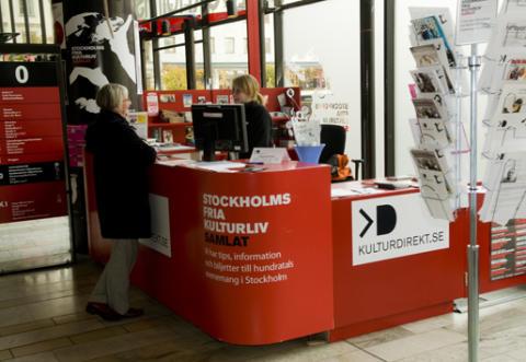 Det fria kulturlivet får försäljningsställe i city