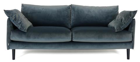 Plain 3-sits soffa