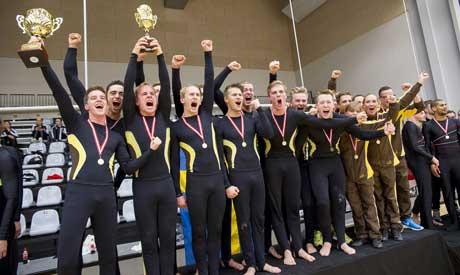 NM i truppgymnastik: Guld, silver och två brons till Sverige