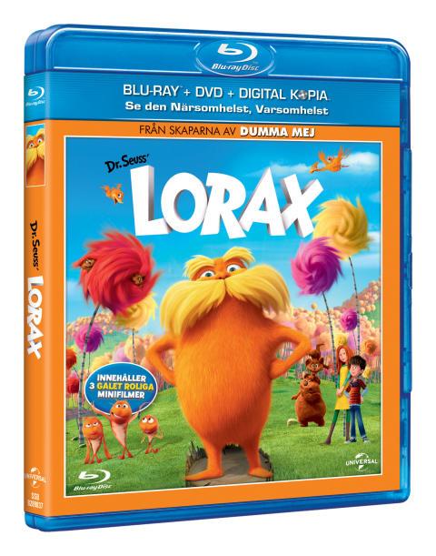 LORAX på blu-ray™ och DVD 29 augusti