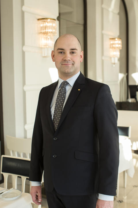 Karl Persson, Food & Beverage Manager, Grand Hôtel Stockholm