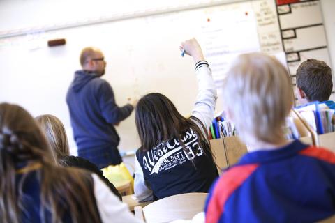 Fyra av tio skolor har ökat andelen behöriga elever till gymnasiet