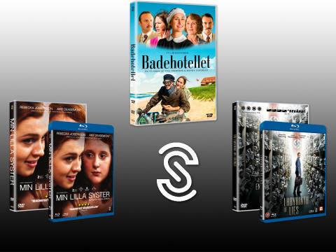 I januari släpps BADEHOTELLET säsong 2, MIN LILLA SYSTER och EN LABYRINT AV LÖGNER från Scanbox Entertainment