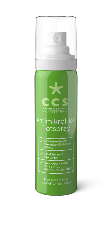 CCS Antimikrobiell Fotspray