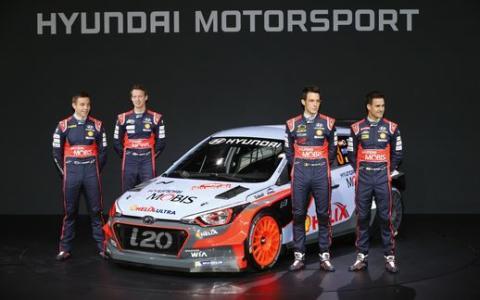 Nya Hyundai i20 WRC lanserad