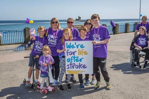 One small step for man, one great Step Out for Stroke in the Isle of Man