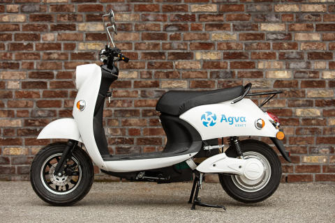 Agva retro-scooter