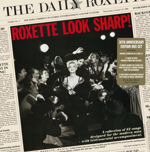 Roxette LookSharp PackShot