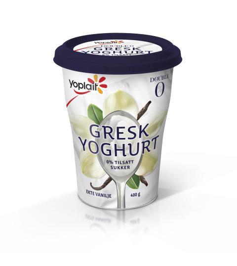 Gresk yoghurt med vanilje