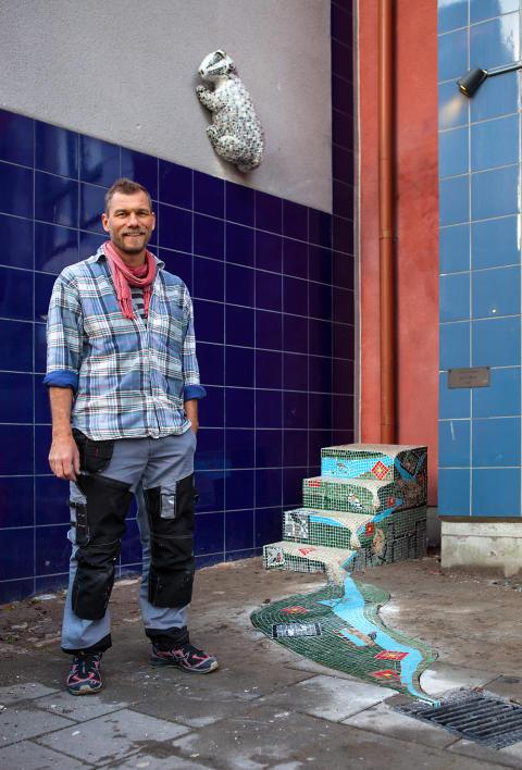 Ernst Billgrens vandaliserade skulptur ersätts med en hyllning till det ursprungliga konstverket