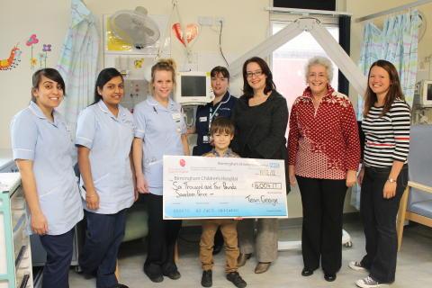 Heart help for Birmingham Children's Hospital