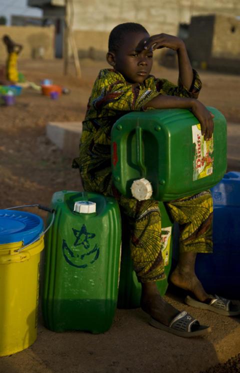 Mali – i kris blir tillgången till rent vatten och sanitet än viktigare