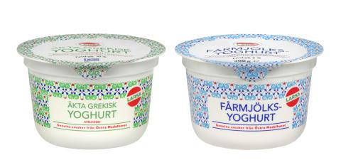Grekiskyoghurt & Fårmjölksyoghurt från Grekland