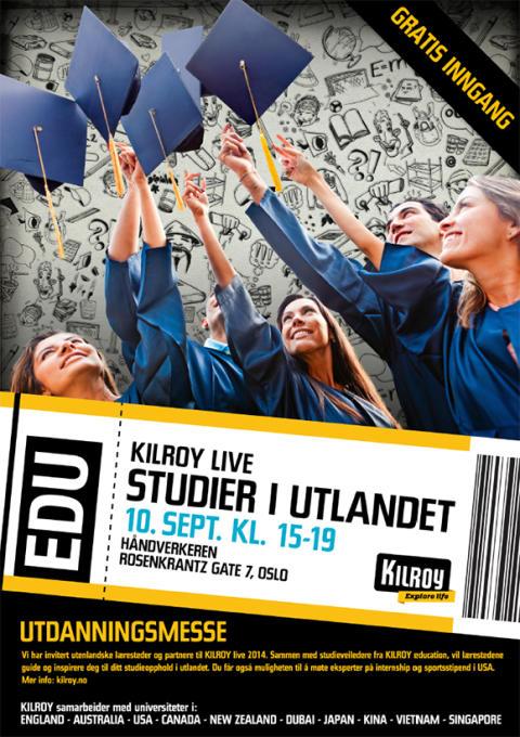 Utdanningsmesse - KILROY live 2014