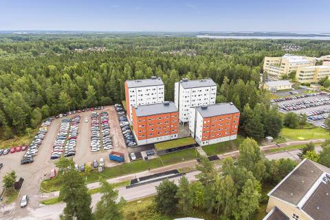 Studentbostäderna på Forest Hill i Karlstad står nu klara