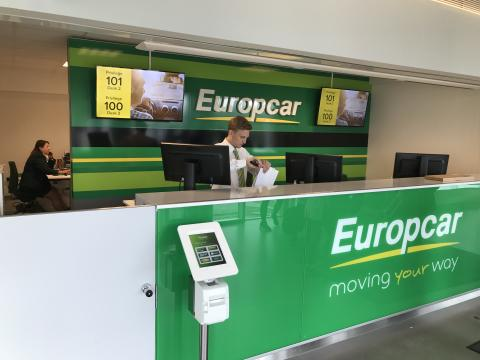 q-cloud kösystem på Europcar