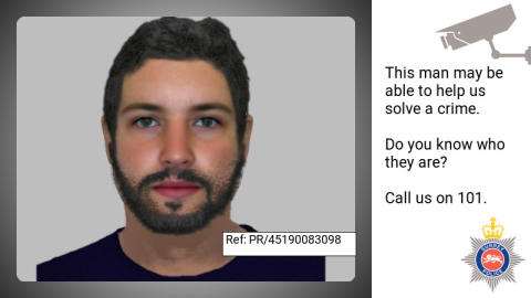 E-fit released following theft of thousands of pounds worth of jewellery in Chertsey