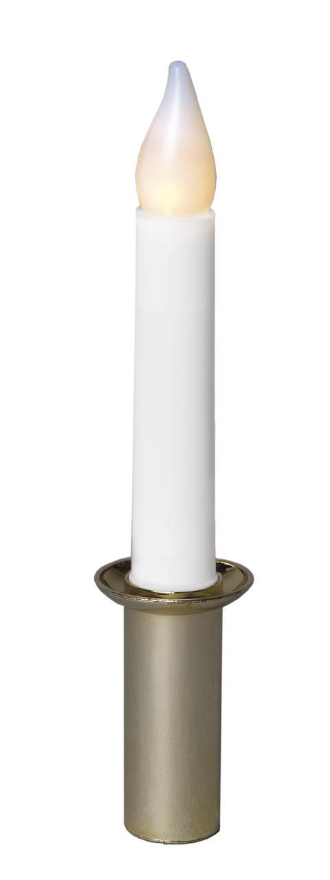 Tärnljus med LED-lampa i plast