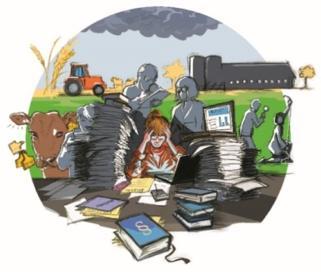 Lantbrukare lägger oväntat mycket tid på kontroller