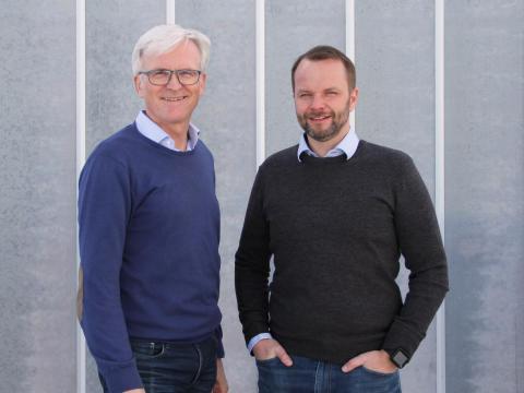 Morten Michalsen og Bjørnar Hansen
